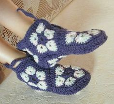 african flower boots, idea pic. no pattern