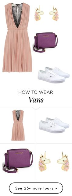 """#lookgirl1107"" by polly2003-2003 on Polyvore featuring Gucci, Vans, Accessorize and MICHAEL Michael Kors"