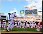 Derek Jeter New York Yankees Stretched Canvas 2014,All-Star-Game,MLB Baseball AARB019 Derek Jeter 2014 MLB All-Star Game Action. 16x20, 20x24, 24x30 Canvas Sizes Available.