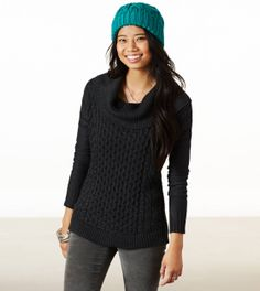 Cowl Neck Cable Sweater from American Eagle Outfitters. Get 2% cash back http://www.stackdealz.com/deals/American-Eagle-Outfitters-Coupons-and-Discounts--/