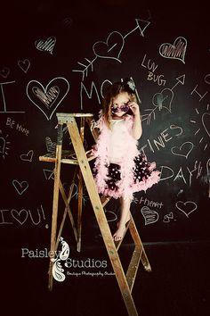 chalkboard backdrop idea
