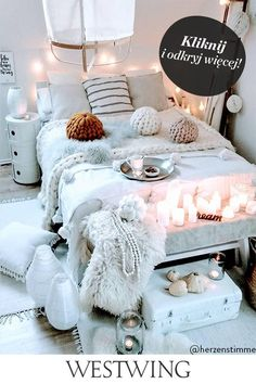 Inspire Me Home Decor, Bohemian Style Bedrooms, Bohemian Interior, Bohemian Decor, Romantic Bedroom Decor, Bedroom Ideas, Bedroom Inspiration, Clean Bedroom, White Bedroom