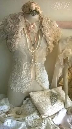 Lace dress form #dressforms