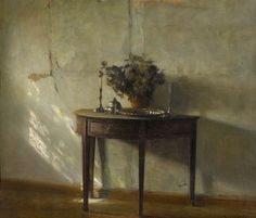 A Sunlit Interior, Carl Holsøe 'Danish Painter, 1863-1935)