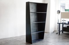 Vintage Handmade Bookcase with a Twist by RehabVintageLA on Etsy
