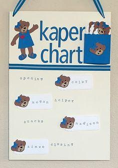 Jennifer's Stamp Pad:   Daisy Girl Scout Kaper Chart