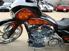 O's Custom Paints / Custom Painting - Harleys, Choppers, Motorcycles / Bad-Ass Street Glide
