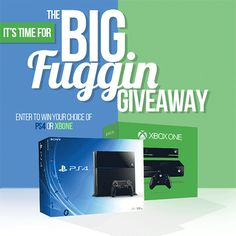 Vapor Joes - Daily Vaping Deals: WIN AN XBOX ONE OR PS4 - ENDS OCT 1ST!