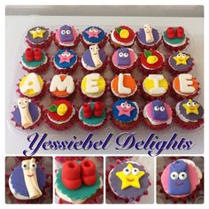 Dora's Cupcakes , Dora la exploradora, Cupcakes, Sugar, Cookies, Desserts, Food, Dora The Explorer, Scouts, Crack Crackers, Tailgate Desserts