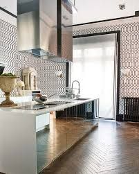 mirror kitchen island - Google Search