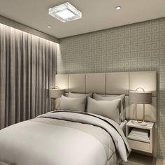 Apartamento A|J - Suíte Casal . . . . . Uma suíte Clean e elegante, como o sonho dos nossos clientes. Destaque para o painel da TV em Mdf da linha Cristalo e filetes de espelhos aplicado em todo seu painel. Temos também o espaço para maquiagem com espelho e iluminação embutidos.  Projeto: @alexsandro.arq 3D: @alexsandro.arq Furniture, Home Decor, Mirrors, Dashboards, Line, Make Up, Couple, Steak, Elegant
