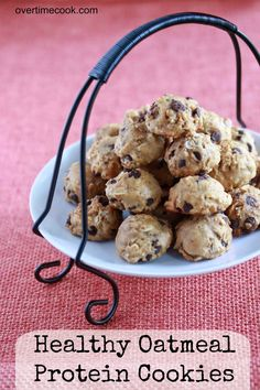 healthy oatmeal cookies on overtimecook