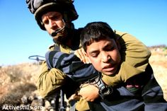In the West Bank, there is no justice, even for children... Hundreds of Palestinian minors were arrested for weeks and even months by Israel in the last five years. Those children – including 34 of them under the age of 14 – were tried in military courts. Only one was acquitted. A new report by human rights NGO B'tselem shed light on one of the occupation's most horrifying aspects http://972mag.com/in-the-west-bank-there-is-no-justice-even-for-children/