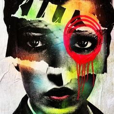 DAIN, street art, graffiti art. http://www.bluehorizonprints.com.au/canvas-art/street-art/