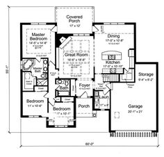 Bungalow Style COOL House Plan ID  chp    Total Living Area    Bungalow Style COOL House Plan ID  chp    Total Living Area  sq  ft   bedrooms  amp  bathrooms  This home provides a very functional spli