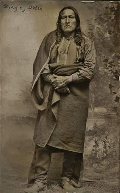 OSAGE Native American Warrior, Native American Beauty, Native American Photos, Native American History, Native American Indians, Native Americans, American Art, Osage Indians, Human Personality