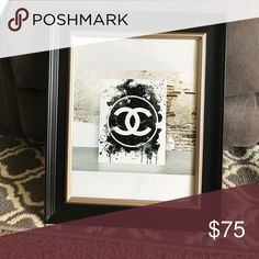 CC picture frame 10x13 frame CHANEL Other