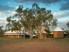 Telegraph Station, the origin of European settlement in Alice Springs, N.T, Australia