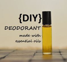 Looking for a natural alternative to deodorant? Check out our blog post to learn how you can make your own deodorant using essential oils: http://doterrablog.com/diy-essential-oil-deodorant