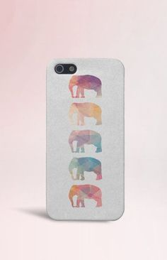 Geometric Elephants Case Animals iPhone 6 iPhone 6 by CaseEscape Cool Iphone Cases, Cool Cases, Cute Phone Cases, 5s Cases, 5sos, Geometric Elephant, Iphone Accessories, Iphone 5s, Ipad Case