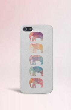 Geometric Elephants Case for iPhone 5 iPhone 5S