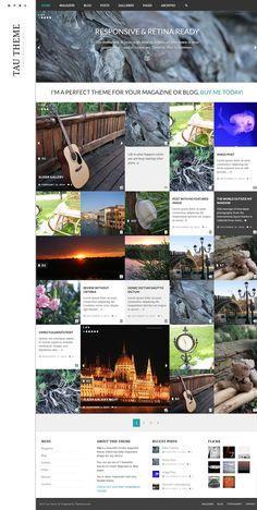 10+ BEST BRANDING WORDPRESS THEMES #blog #design