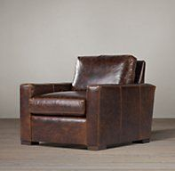 leather cocoa chair restoration restoration hardware sofas chairs