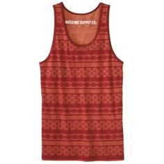 Mossimo Supply Co. Men's Tank Top - Red Pop