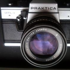 my camera #snapshot © 2014 by rehmember #praktika #camera #analog #photography