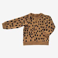 Dot to Dot Fleece Sweatshirt   bitteshop.com