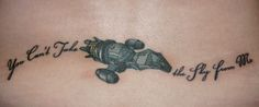 """Firefly tattoo """"You can't take the sky from me"""""""