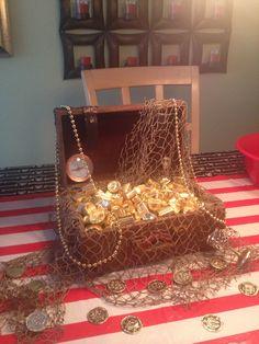 Pirate Party Treasure Box