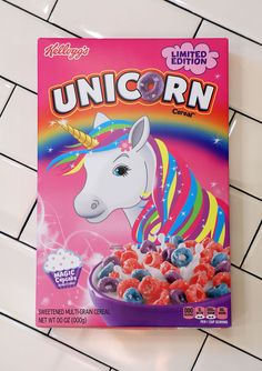 Kellogg's Is Bringing Unicorn Cereal To The U.S.