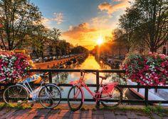 Biciclette ad Amsterdam | Puzzle da Adulti | Puzzle | Prodotti | IT…