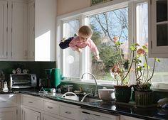 ¿Existe algo más mágico que niños volando?