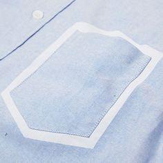 Over All Master Cloth Triple Needle Shirt | IAMFATTERTHANYOU.COM