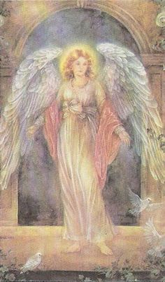 Archangel Gabriel's name means God is my strength.  yourcaringangels.com