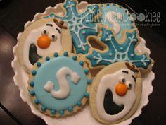 Decorated Frozen Cookies
