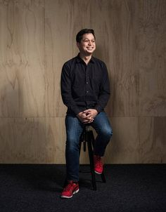 The chief executive of the image-sharing site on building the company, his 'dorky' childhood collection and wasting time online.