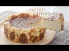 Basque cheesecake 巴斯克 焦香起司蛋糕 作法簡單 材料混和烤25分鐘就完成 口感濃郁濕潤好好吃 - YouTube