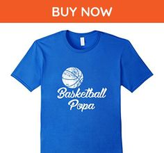 Mens Basketball Popa Shirt, Cute Funny Player Fan Gift Large Royal Blue - Sports shirts (*Amazon Partner-Link)