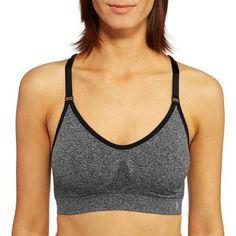3cfac2a078d5d Danskin Now Women s Active Seamless Mesh Back Cami Bra - Walmart.com  Fitness Activities
