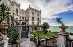 Back of Miramare's Castle, Trieste, Italy by Francesco Corrocher on 500px