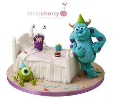 Splendid Monsters, Inc. Cake made by Little Cherry Cake Company