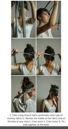 DIY Headband/Headwrap