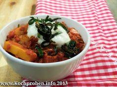 Curry von roten Linsen mit Pastinaken und Lauch  #Curry #indisch #lauch #linsen #pastinaken #vegetarisch