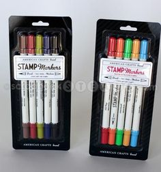 American Crafts stamp markers