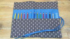 Stifterollen - Stifterolle - Rollmäppchen - ein Designerstück von kleinerfaden bei DaWanda