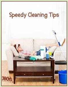 Consejos de limpieza rapida