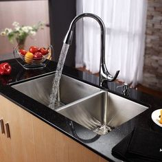 Modern kitchen installation with lovable kitchen sink soap dispenser kraus x undermount double bowl kitchen sink with faucet and soap dispenser faucet finish chrome workwithnaturefo